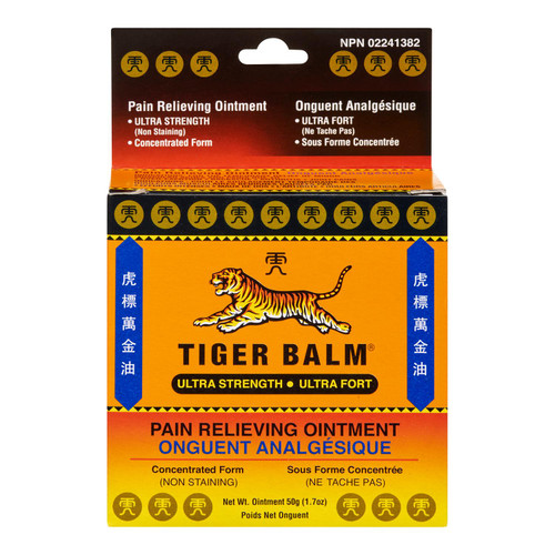 Tiger Balm Ultra Fort Onguent Analgésique 50 g