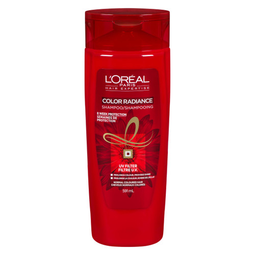 L'Oréal Paris Hair Expertise Color Radiance Shampooing Cheveux Normaux Colorés 591 ml