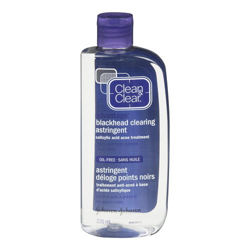 Clean & Clear Advantage Astringent Déloge Points Noirs 235 ml