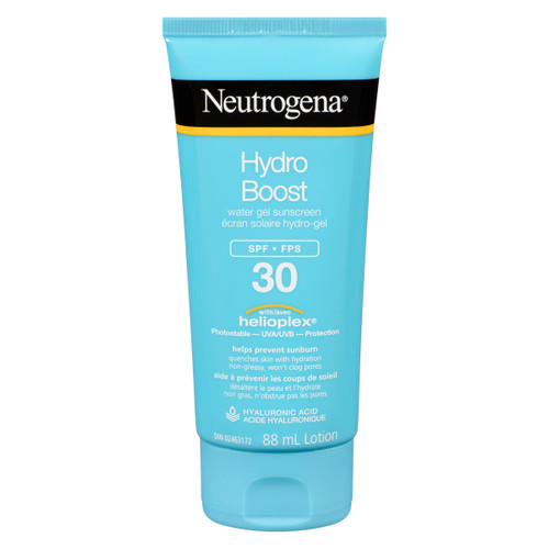 Neutrogena Hydro Boost Lotion Écran Solaire Hydro-Gel FPS 30 88 ml