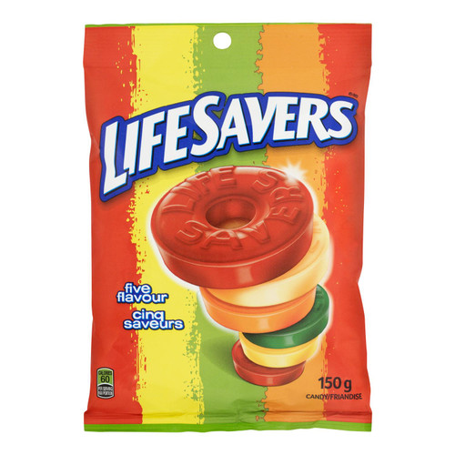 Life Savers Cinq Saveurs Friandise 150 g