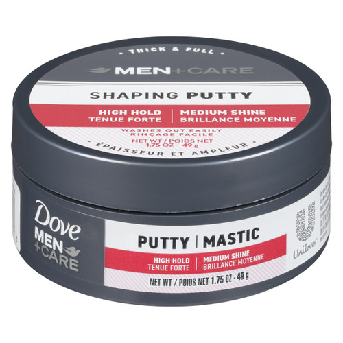 Dove Men+Care Shaping Putty Épaisseur et Ampleur 49 g