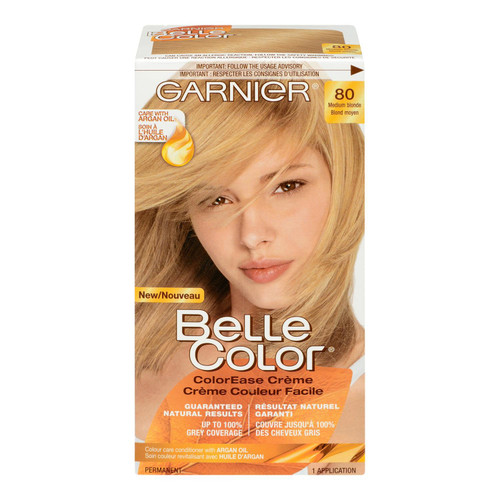 Garnier Belle Color Crème Couleur Facile Permanent 80 Blond Moyen
