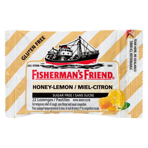 Fisherman's Friend Miel Citron 22 Pastilles