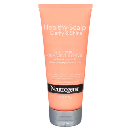 Neutrogena Healthy Scalp Clarify & Shine Gommage Cuir Chevelu pour Cheveux Gras 192 g