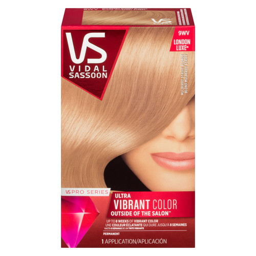 Vidal Sassoon Pro Series London Luxe Ultra Vibrant Color Permanent 9WV Blond Mulberry Street