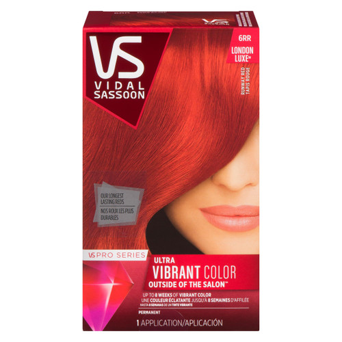 Vidal Sassoon Pro Series London Luxe Ultra Vibrant Color Permanent 6RR Tapis Rouge