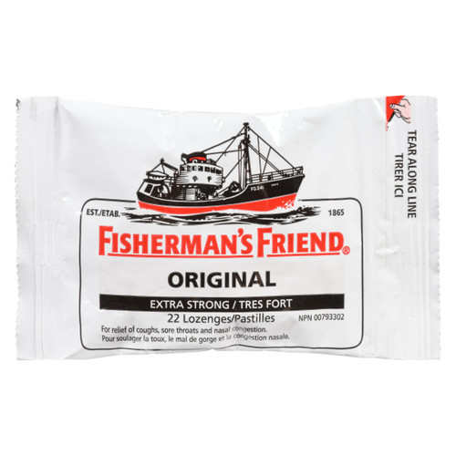 Fisherman's Friend Original Tres Fort 22 Pastilles