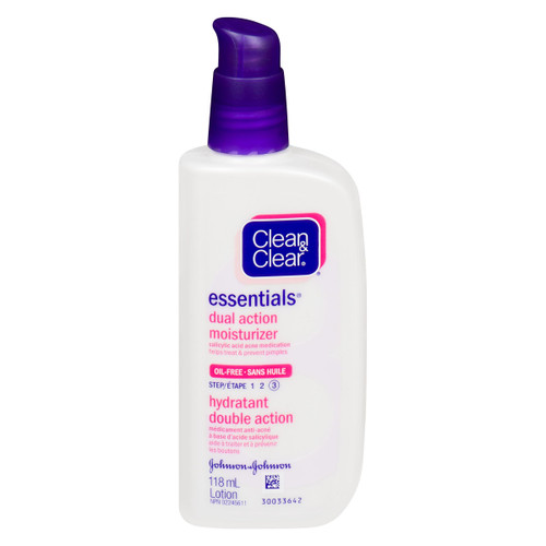 Clean & Clear Essentials Lotion Hydratant Double Action Étape 3 118 ml