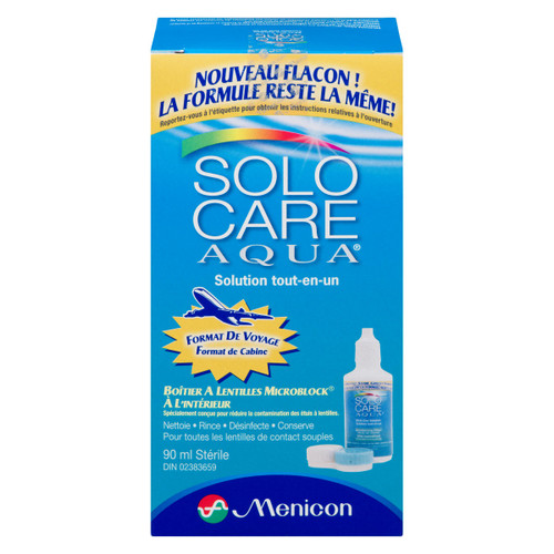 Solocare Aqua Solution tout-en-un 90 ml