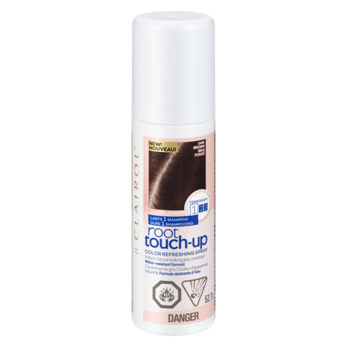 Clairol Root Touch-Up Color Refreshing Spray Brun Foncé 52.7 g