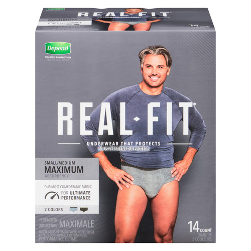 Depend Real Fit Maximale P/M 14 Caleçons