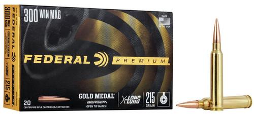 Fed Gold Mdl 300 Win Mag 215gr