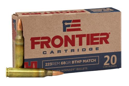 Hornady Frontier .223 68gr BTHP Match