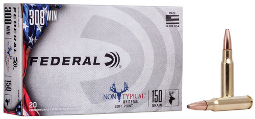 Federal Non Typical Whitetail 308 Win Soft Point