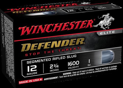 "Winchester PDX1 Defender 12 Gauge 2-3/4"" 1oz Segmented Slug"