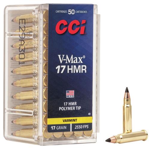 CCI 17 HMR V-Max 17gr 50rd