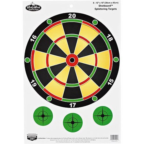 "BWC Shotboard Scattershot 12""x18"" Target (8pk)"
