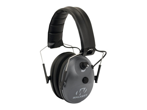 Walker's Electronic Muffs. Single Mic (BLACK)