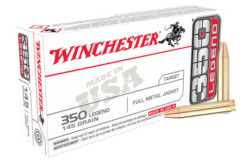 Winchester 350 Legend 145 gr FMJ USA 20/Box