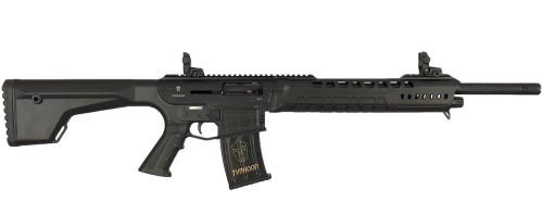 "TYPHOON DEFENSE X12 MONOBLOG 12GA SHOTGUN 18.5"" 5 RDS (Black)"