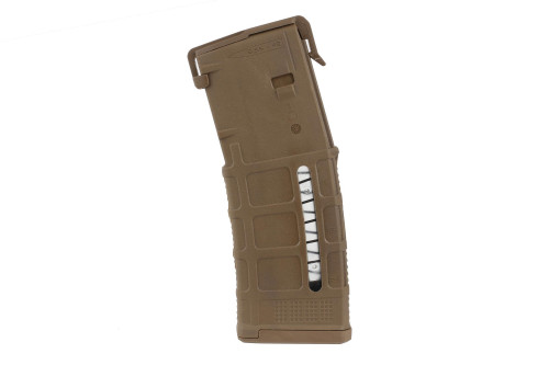 Windowed 30rd Gen3 Pmag (Coyote Tan)