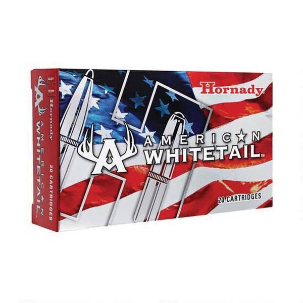 Hornady American Whitetail .300 Winchester Short Magnum Ammunition, InterLock SP Projectile, 20 Rounds, 165 Grains