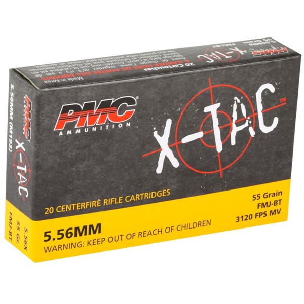 PMC X-TAC 5.56 FMJBT | 55gr | 20rd