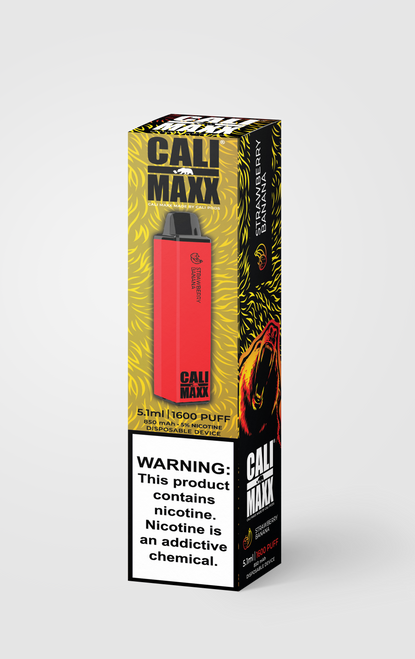 Cali Maxx Disposable - Strawberry Banana