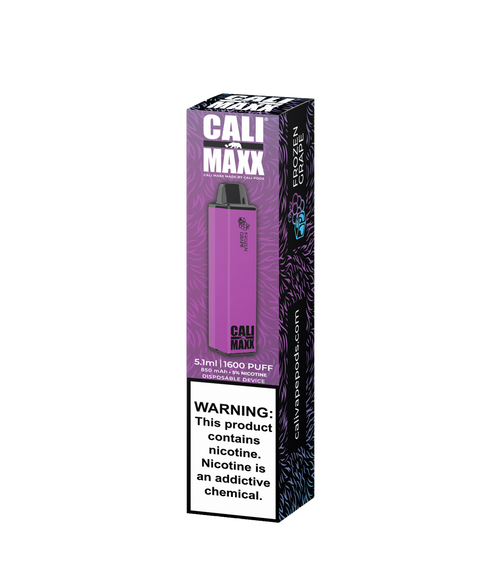 Cali MAXX Disposable - Frozen Grape