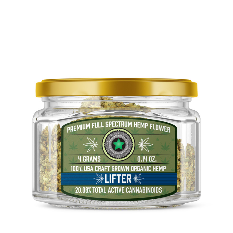 Lifter Full Spectrum Hemp Flower