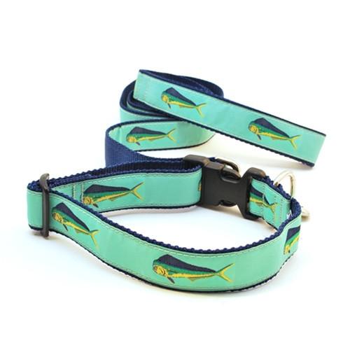 Mahi Mahi on Green (Narrow Roman Harness)