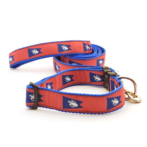 Nantucket Pennant Flag (Wide Martingale)