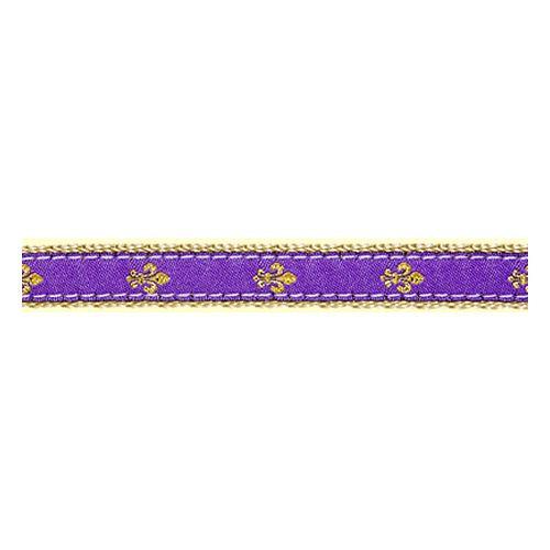 Fleur de Lis on Purple II (Toy Harness)