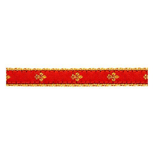 Fleur de Lis on Red II (Toy Harness)