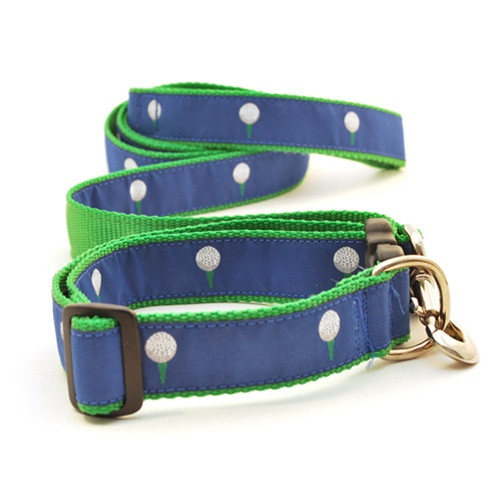 Golf Ball on Blue (Narrow Collar)