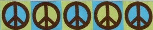 Peace Sign (Wide Martingale)