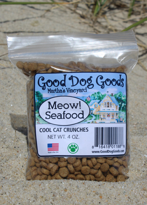 Meow! Seafood - Cool Cat Crunches