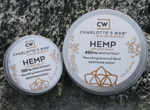 Charlotte's Web Hemp Infused Balm - Soothing Scent