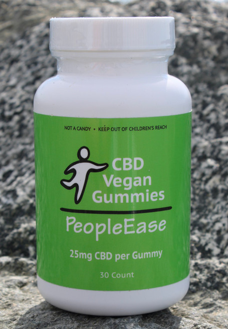 PeopleEase CBD Vegan Gummies (25mg)
