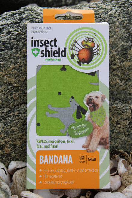Insect Shield Mosquito, Tick, Fly, and Flea Repellent Bandana