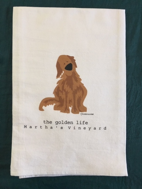 Towel - Golden Life