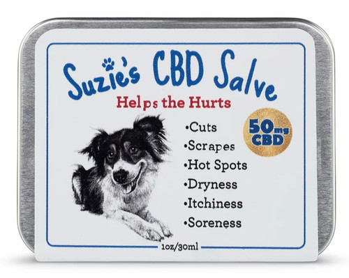 Suzie's CBD Salve for Dogs (50mg)
