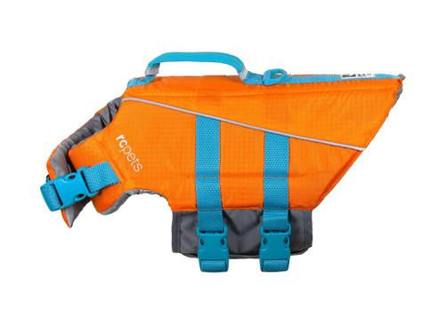 Life Vest - Orange & Blue