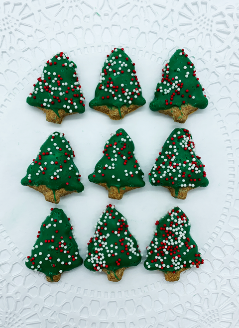 Mini Christmas Tree (Gourmet Dog Treat) - SOLD OUT