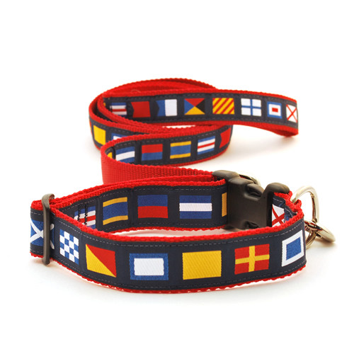 A-Z Code Flags on Red (Leashes)
