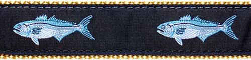 Bluefish on Khaki (Leashes)