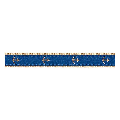 Anchor on Blue II (Collars & Martingales)