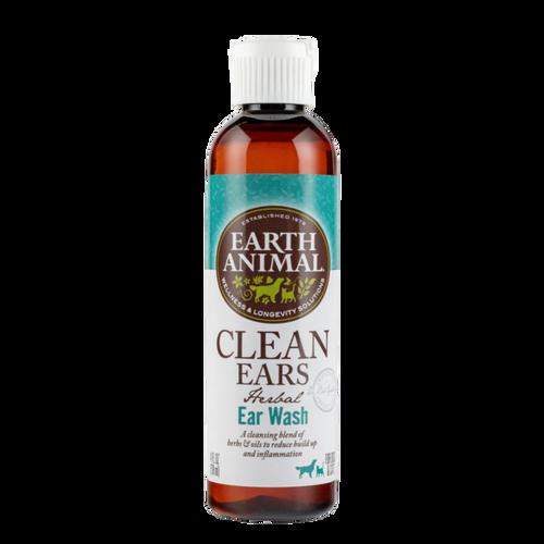 Earth Animal Clean Ears Herbal Ear Wash (4 oz)