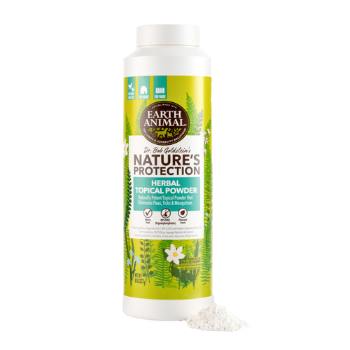 Earth Animal Nature's Protection Herbal Topical Powder (8 oz)